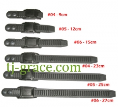 Slide in buckle set