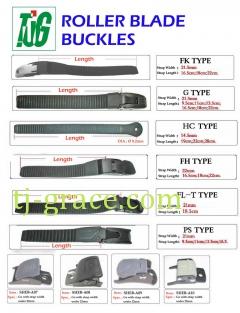 Roller Blade buckles