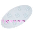 Stomp Pads, SMALL OVAL SNOW FLACK